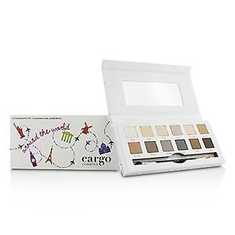 Cargo Around The World Eye Shadow Palette (12x Eye Shadow 1x Shadow Brush) - 12x0.8g/0.03oz