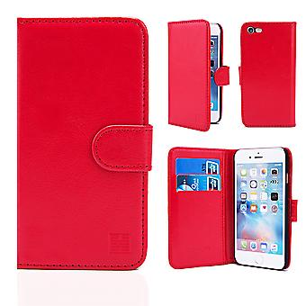 32nd Book wallet case + stylus for Apple iPhone 7 / iPhone 8 - Red