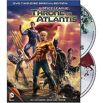 Liga da Justiça: Trono de Atlântida [DVD] EUA importar
