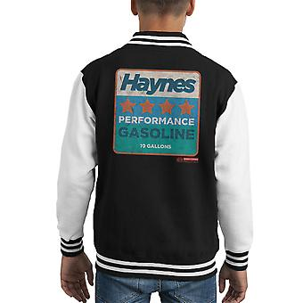 Haynes Performance Gasoline Kid's Varsity Jacket
