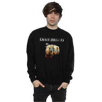 Disturbed Men's Fist Logo Sweatshirt