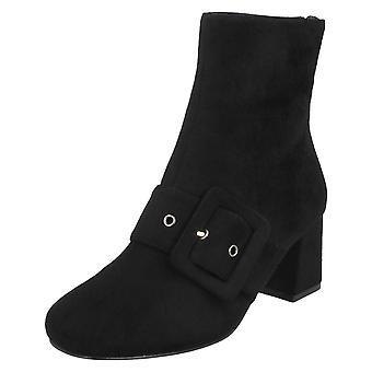 Damen-Spot auf blockierte Heel Ankle Boots F50748