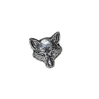 Fox głowy Odznaka Pin cyny klapy