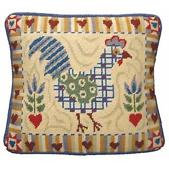 Shaker Cockerel Needlepoint Kit