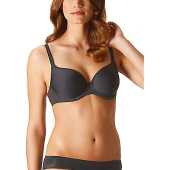 Mey 74254-928 Women's Joan Diamond Black Solid Colour Underwired Full Cup Bra