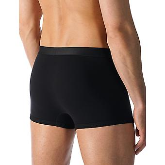 Mey 49028-123 Men's Casual Cotton Black Solid Colour Fitted Boxer