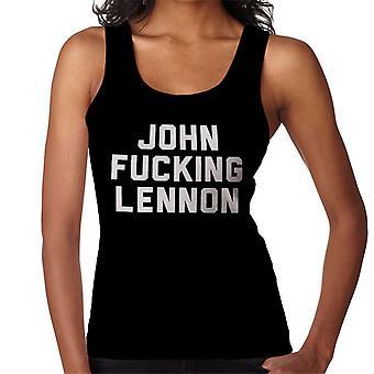 John Fucking Lennon Women's Vest