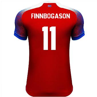 2018-2019 Iceland Third Errea Football Shirt (Finnbogason 11)