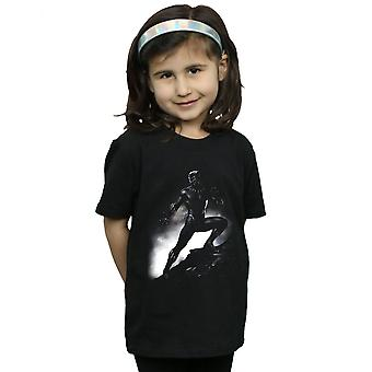 Marvel Girls Black Panther Standing Pose T-Shirt