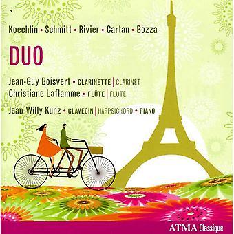 Koechlin/Schmitt/Rivier/Cartan/Bozza - Duo: Koechlin, Schmitt, Rivier, Cartan, Bozza [CD] USA import