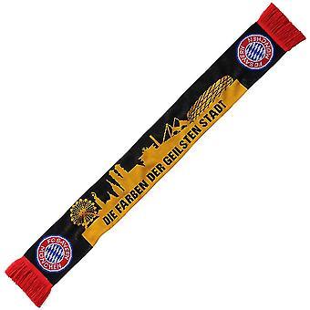 FC Bayern Munich Crest Slogan Scarf