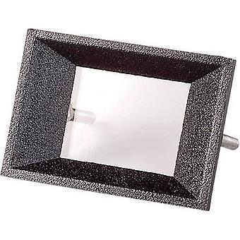 Strapubox AR 2 Face frame Preto compatível com: 2 dígitos LCD Acrylonitrile butadiene estireno