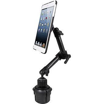 حامل كأس مُصنع مُصاب ة مُصَلَب آيباد المتوافق مع سلسلة أبل: iPad Black