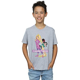Disney Boys Wreck It Ralph Rapunzel And Vanellope T-Shirt