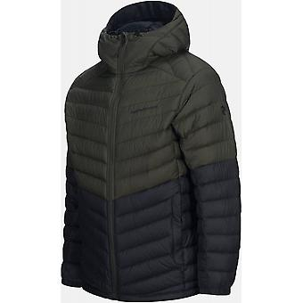 Peak Performance Frost Down Hood Blocked - Forest Night