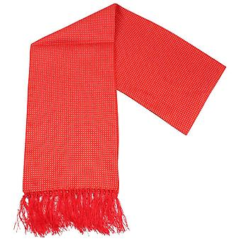Knightsbridge Neckwear Pin Dot Dress Scarf - Red