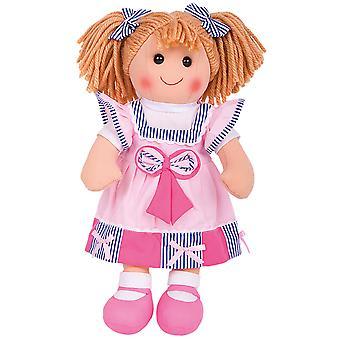 Bigjigs Toys Plush Georgie (38cm) Cuddly Rag Doll Toy