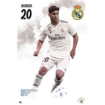 Real Madrid Poster Asensio 57