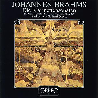 J. Brahms - Son Cl 1/2 [CD] USA import