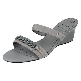 Ladies Rockport Heeled Sandals Style - Lis Slide K56014