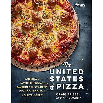 The United States of Pizza - America's Favorite Pizzas - from Thin Cru