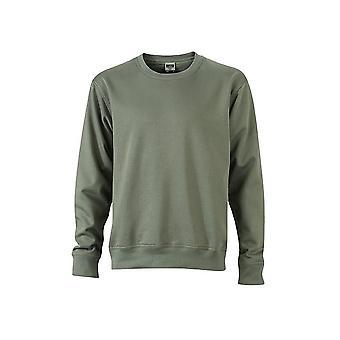 James and Nicholson Unisex Workwear Sweatshirt