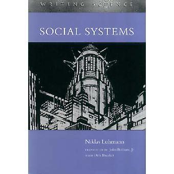 Sozialer Systeme von Niklas Luhmann - Dirk Baecker - Dirk Baecker - John