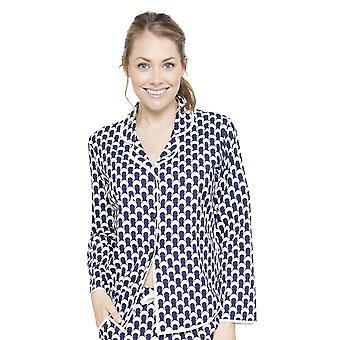 Rosie Navy pijama azul Top Cyberjammies 4062 mujeres