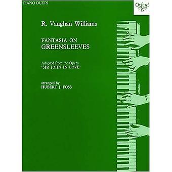 Fantasia på Greensleeves: Piano duett