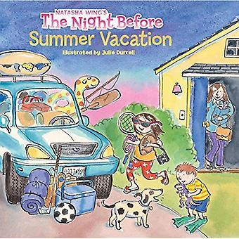 La veille des vacances d'été (livres de chemin de fer de lecture)