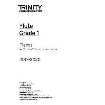Trinity College London: Flöjt examen bitar Grade 1 2017 – 2020 (endast del)