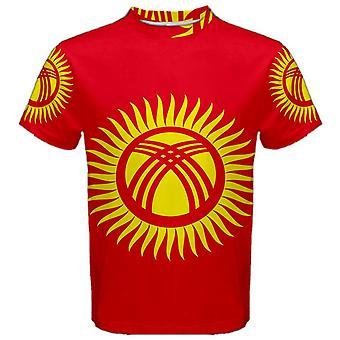 Vlag van Kirgizië gesublimeerd sport Jersey