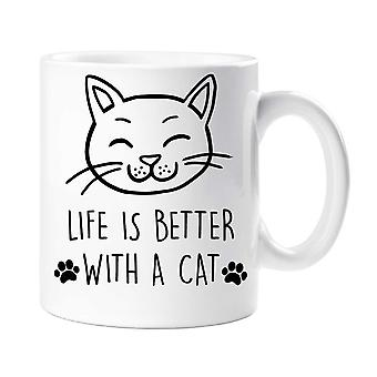 Cat Life Is Better With A Cat Mug