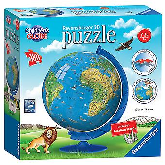 Ravensburger Children's World Globe 180 piece 3D Jigsaw