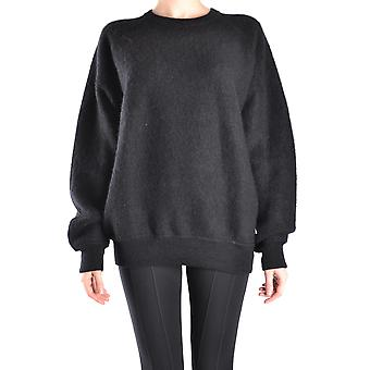 Alexander Wang Ezbc028001 Women's Black Wool Sweater