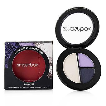 Smashbox Photo Edit Eye Shadow Trio - # Repost (stormy Say What Sparkle Pony) - 3.2g/0.11oz