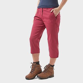 Neue Craghoppers Frauen's Kiwi Pro Stretch Crops II Hose Pink