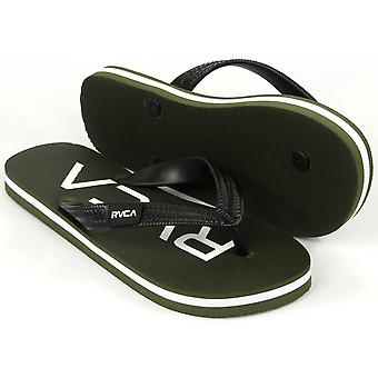 RVCA Mens VA Sport Trench Town Thong Sandals - Leaf Green