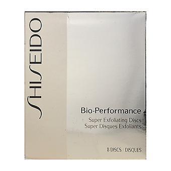 Shiseido Bio Performance Super Exfoliating Disc 8 Discs New In Box