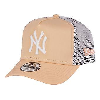 New Era 9Forty Kids Trucker Cap-NY Yankees perzik