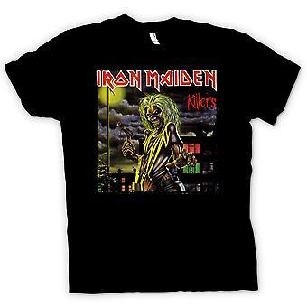 Mens t-skjorte - Iron Maiden - Killers albumgrafikk