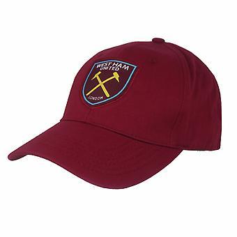 West Ham United FC Official Basic Baseball Cap