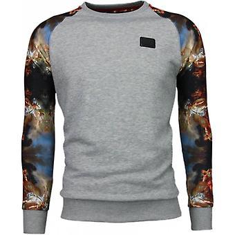 Mythologie Arm Motif-sweatshirt-gris