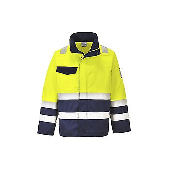 Portwest hi-vis modaflame jacket mv25