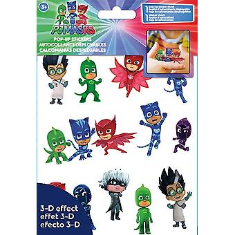 Sticker Pop-up 4x8 - PJ Masks - Stationery New st6106