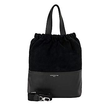 Liebeskind Berlin Upsidedown Suede - Tote Medium Woman Bag ToteNero (Black) 13x38x46 centimeters (B x H x T)