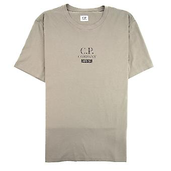 CP Company 019 terug logo T-shirt kaki 932