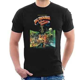 Big Trouble in Little China Movie Poster Men's T-Shirt
