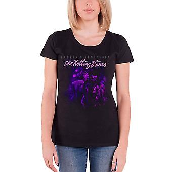 The Rolling Stones T Shirt Mick & Keith Together Official Womens skinny fit