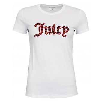 Juicy Couture Leopard Print Logo Tshirt